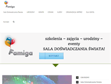 Tablet Preview of famiga.pl